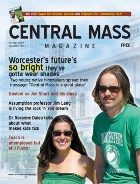 Central Mass Magazine cover