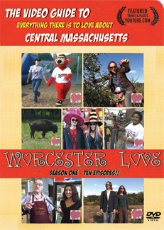 Worcester Love First season DVD cover front