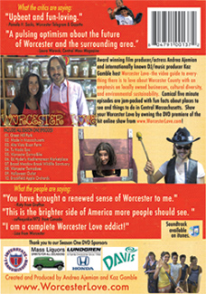 Worcester Love DVD cover rear